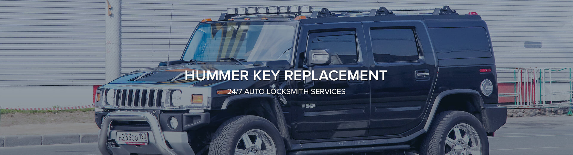 Hummer Key Replacement Lost Hummer Keys Cobra Locksmiths