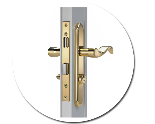 Storm Door Lock and Handles