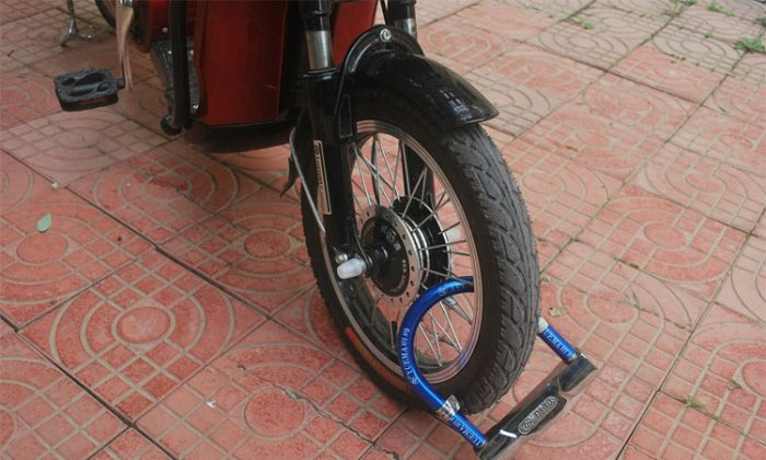 bicycle lock out