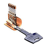 high security lock multlock key