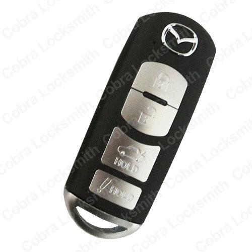 replace mazda smart key